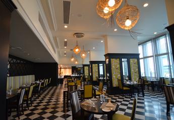 グランドパプアホテルレストラン