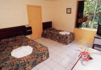 メラネシアンホテルお部屋